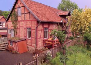 Bild: Harz – Erholung im Nationalparkort Ilsenburg – Ferienhaus im Garten