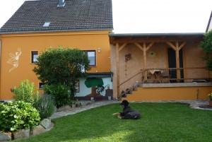 Bild: Ferienwohnung Feenhaus Erholung u. Entspannung im Hunsrück mit Hund